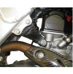 staffe motore  colore carbonio - Honda Crf r 450 2017-2020 - Honda Crf rx 450 2017-2020