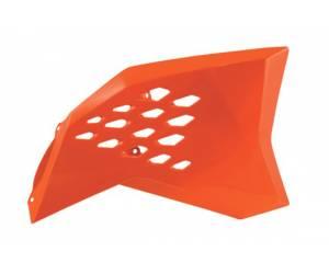 convogliatori radiatore  colore arancio