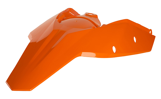 2071120001 MC FOR KTM BLACK ACERBIS REAR//SIDE COWLING