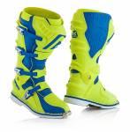 stivali  X-Move 2.0 colore giallo fluo/blu