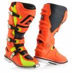 stivali  X-Move 2.0 colore arancio fluo misura 47