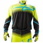 maglia  X-Flex Mx17 colore giallo fluo/nero misura XXL