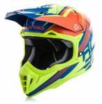 casco  Impact 3.0 2017 colore arancio/giallo fluo misura S