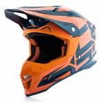 casco  Profile 4 colore blu/arancio misura XS