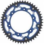corona bi-metallo X-Race  colore blu