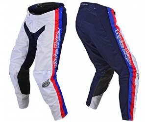 pantaloni  GP Air Premix 86 colore bianco/blu