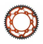 corona bi-metallo X-Race  colore rosso