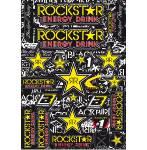 fogli adesivi fustellati  Rockstar