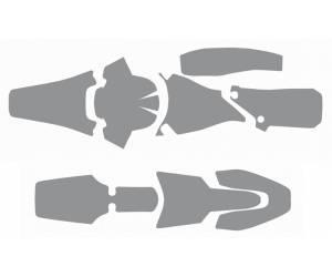 kit spugne antifango per parafanghi