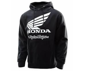 felpa  Honda Wing Po colore nero