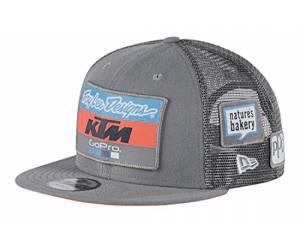 cappellino  Ktm Team Snapback Charcoal colore grigio