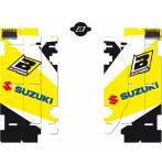 adesivi copriradiatori  - Suzuki Rm 125 2001-2012 - Suzuki Rm 250 2001-2012