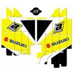 adesivi copriradiatori  - Suzuki Rmz 250 2019-2020 - Suzuki Rmz 450 2018-2020