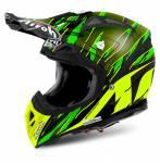 casco  Aviator 2.2 Threat colore verde opaco misura L