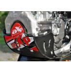 sottomotore in plastica Xtrem 6mm  colore nero - Honda Crf r 450 2009-2016