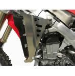 rinforzi radiatore  colore alluminio - Honda Crf r 250 2018-2019