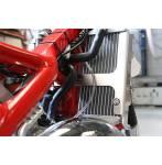 rinforzi radiatore  colore alluminio - Beta RR 125 2018-2019