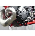 sottomotore in plastica  colore nero - Gas Gas Ec 250 2015 - Gas Gas Ec 300 2015