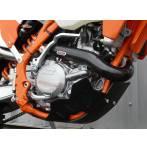 sottomotore in plastica  colore nero - Husaberg Fe 450 2013-2014 - Husaberg Fe 501 2013-2014