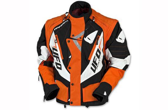ufo enduro ranger jacket color orange