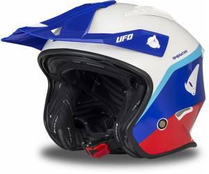 casco  Sheratan colore blu/rosso
