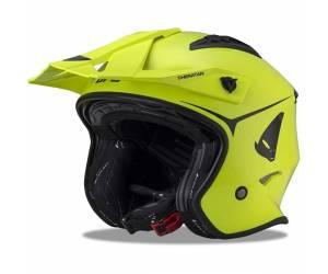casco  Sheratan colore giallo fluo