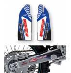 adesivi copristeli + forcellone  - Yamaha Wrf 250 2005-2006 - Yamaha Wrf 450 2005-2006 - Yamaha Yzf 250 2005 - Yamaha Yzf 450 2005