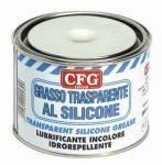 grasso trasparente al silicone per mousse  500ml