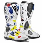 stivali  Crossfire 3 colore giallo fluo/bianco/blu misura 45