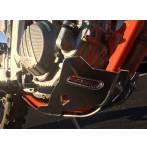 sottomotore in alluminio  colore alluminio - Ktm Freeride F 250 2018-2020