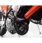 protezione collettore  colore carbonio - Ktm Exc f 250 2020-2021
