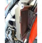 rinforzi radiatore  colore alluminio - Honda Crf r 250 2014-2017