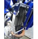 rinforzi radiatore  colore alluminio - Sherco Sef 450 2015-2017