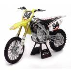 modellini moto 36 cm  suzuki rmz 450 scala 1:6