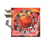 disco freno ant. + supporto + pastiglie Batfly S3 semi flottante 270mm  - Husqvarna Tc 250 2014-2020