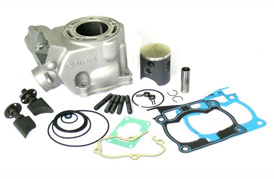 Ricambio allOriginale per Yamaha Yz 125 Lc Oem Athena P400485200001 Kit Completo Testa