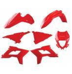 Kit plastiche Restyling  colore rosso
