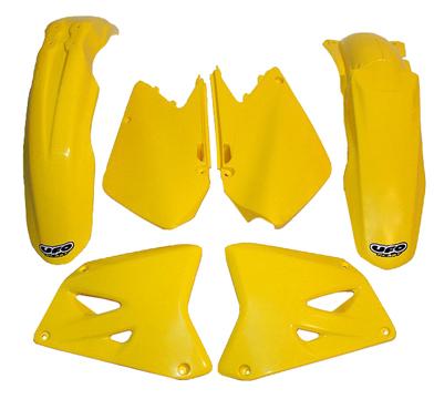 UFO Plastics Front Fender Yellow for Suzuki RM 125 250 89-00