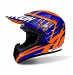 casco  Switch Startruck colore blu/arancio misura S