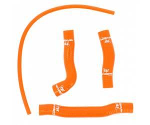 Kit tubi radiatore silicone  colore arancio