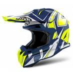 casco  Terminator 2.2 Shock Gloss colore blu
