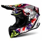 casco  Twist Crazy colore nero misura M