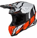 casco  Twist Great colore arancio opaco misura XL